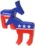 Democratic Donkey Stress Balls